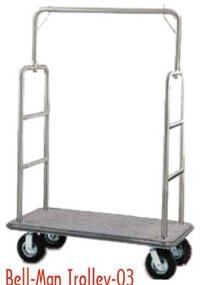 Durable Bell Men Trolley