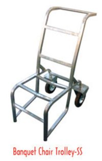 Banquet Chair Trolley SS