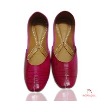 Pink Traditional Ladies Jutti's
