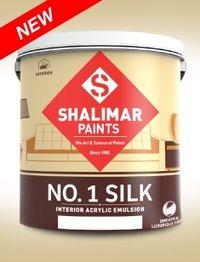 Shalimar Emulsion Paints (Silk Emulsion)