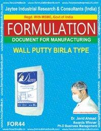 Formula Document For Making Wall Putty Birla Type