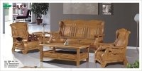 Fancy Wooden Sofa Set