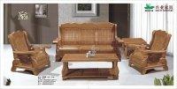 Eye Catching Wooden Sofa Set