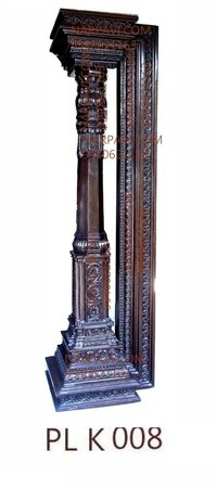 Artificial Wooden Pillar