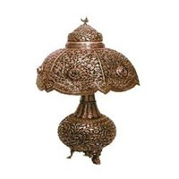 Decorative Silver Lamp