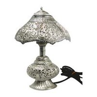 Durable Decorative Silver Lamp