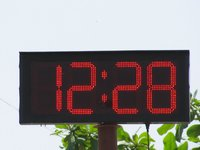 GPS Base Digital Clock