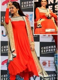 Dipika Red Anarkali Dress