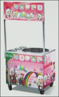 Gas Cotton Candy Machine With Cabinet (Model No. Kk-C660)