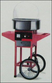 Electric Cotton Candy Machine With Cart (Model No. Kk-C520e)