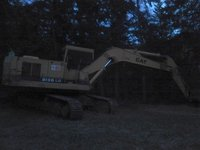 Second Hand Crawler Excavator
