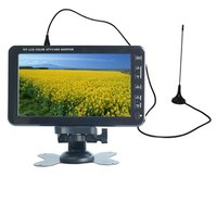 JV-VC711B 7 inch LCD Color TV in Analog System