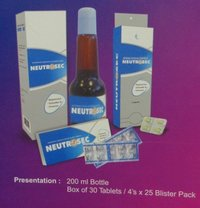 Neutrosec Methionine, Choline And Multi Vitamin Syrup/ Tablet
