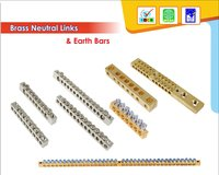 Brass Neutral Link For Low Voltage Distribution Box