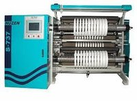 Jumbo Roll Slitting And Rewinding Machine