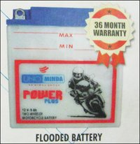 Power Plus Two Wheeler Flooded Battery