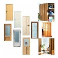 PVC Hollow Single Panel Doors