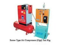 Screw Type Air Compressors Test Rig