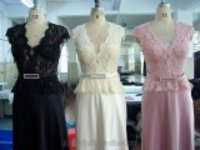 Embroidery With Handmade Beadings Bridal Dress