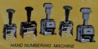 Hand Numbering Machine