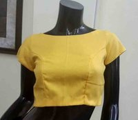 Fancy Design Boatnack Readymade Blouse