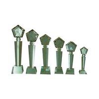 Stylish Acrylic Memento Trophy