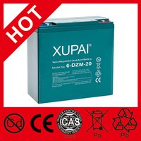 6-DZM-20 12V 20AH Lead Acid Battery For E Bike