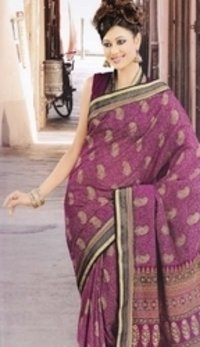Fancy Cotton Printed Saree