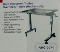 Instrumental Trolley Over the OT Table (Mechanically)