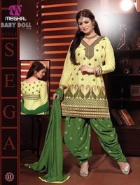 Designer Cotton Ladies Salwar Suits