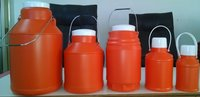 HDPE Plastic Boston Round Bottles