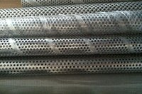 Stainless Steel Spiral Welded Perforated Metal Pipes Filter