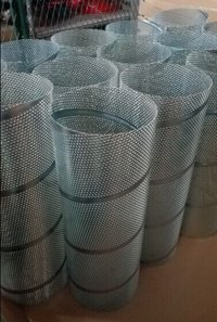 S.S. Spiral Welded Perforated Metal Pipes Filter