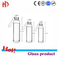 Borosilicate Glass Travel Bottles