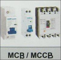 Miniature Circuit Breaker (MCB) / Molded case circuit breakers (MCCB)