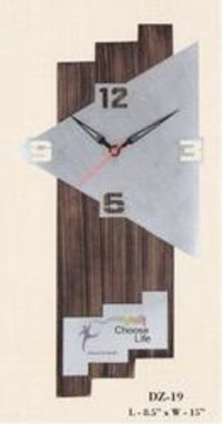 Decorative Wooden Clock