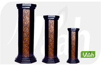 Vaah Wooden Candle Stands