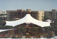 Permanent Fabric Tensile Structure