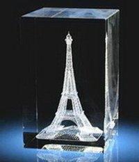 Crystal Memento 6x6x10