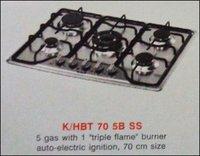 Five Burner Kitchen Hob (K/Hbt 70 5b Ss)