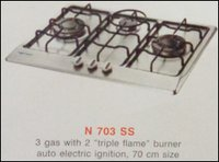 Three Burner Kitchen Hob (N 703 Ss)