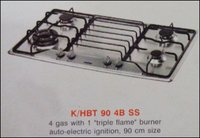 Four Burner Kitchen Hob (K/Hbt 90 4b Ss)