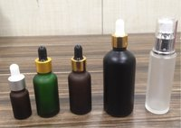 Colored Essential Oil Bottles