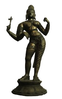 Half Male And Half Female (Shiva + Parvati) Statue