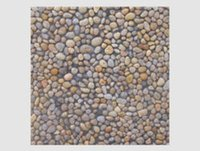 Pondi Pebble On Grey Base Tile