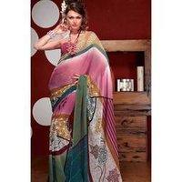 Stylish Digital Printed Sarees