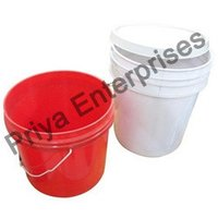 Plastic Paint Pails Bucket