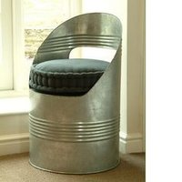Iron Drum Chair
