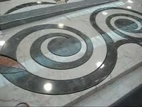 Marble Inlay Flooring Border Tiles