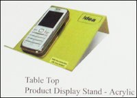 Table Top Product Display Stand - Acrylic